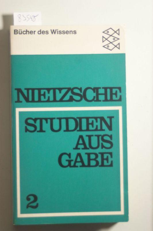 Holz, Hans Heinz: Friedrich Nietzsche. Studienausgabe, Band 2 (Bücher des Wissens. Friedrich Nietzsche. Studienausgabe in 4 Bänden)