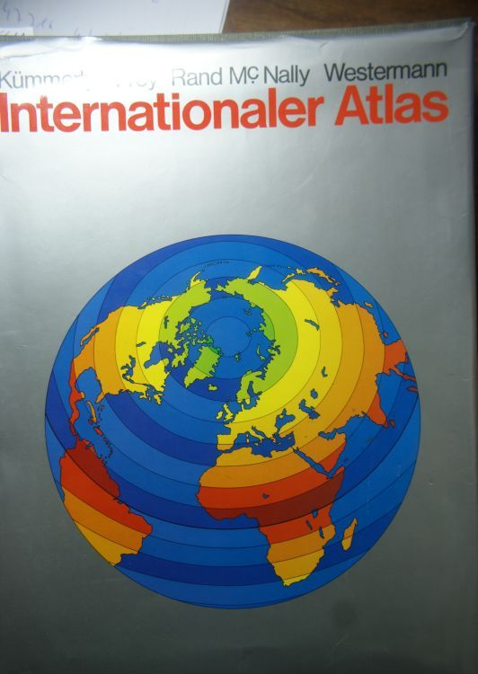 & FREY., KÜMMERLY: Internationaler Atlas. The International Atlas. El Atlas Internacional. L`Atlas.
