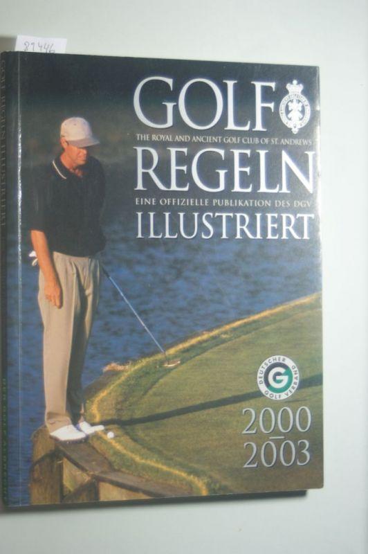 Golf Regeln illustriert. Erklärung der verschiedenen Regelfälle im Golfspiel in Wort und Bild