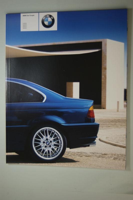 BMW: BMW 3er Coupé. 318ci, 320ci, 325ci, 330ci. Prospekt 2000