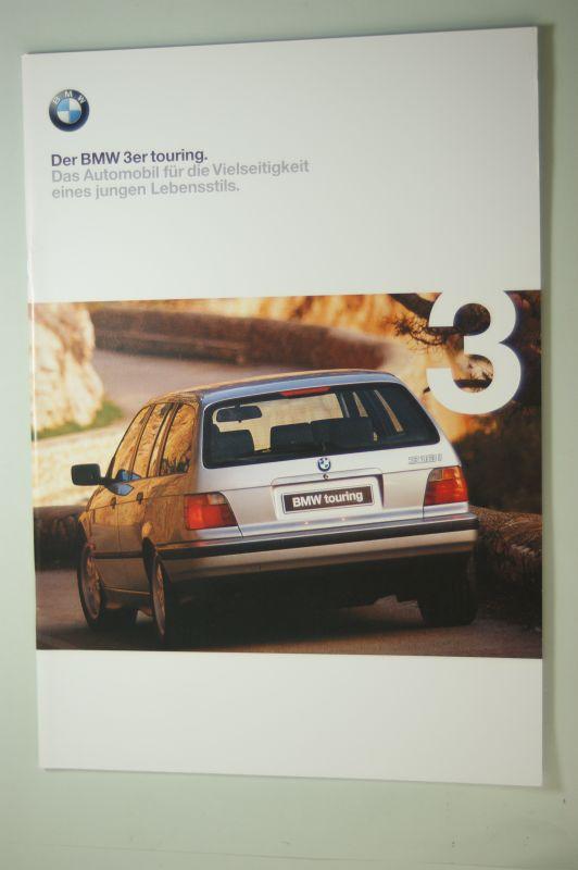 BMW: Der BMW 3er touring. Prospekt 1/98.