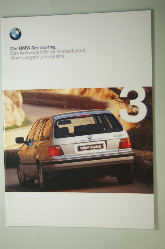BMW: Der BMW 3er touring. Prospekt 2/98.