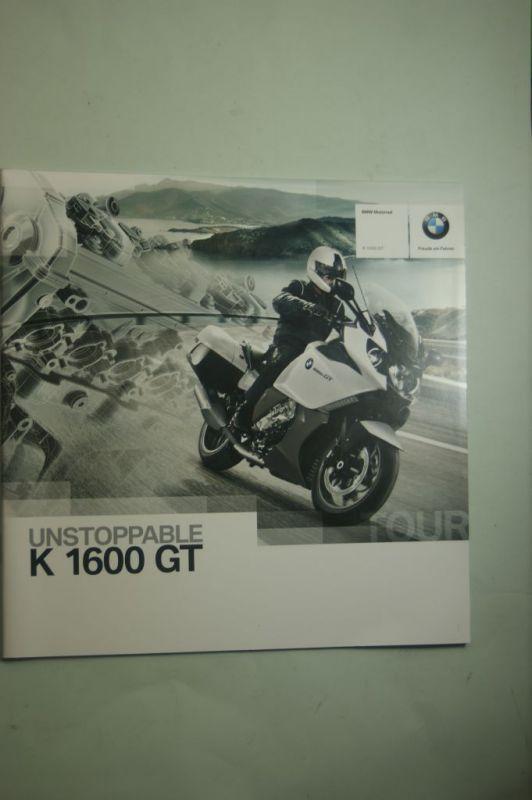 BMW: Prospekt BMW K 1600 GT 07/2011