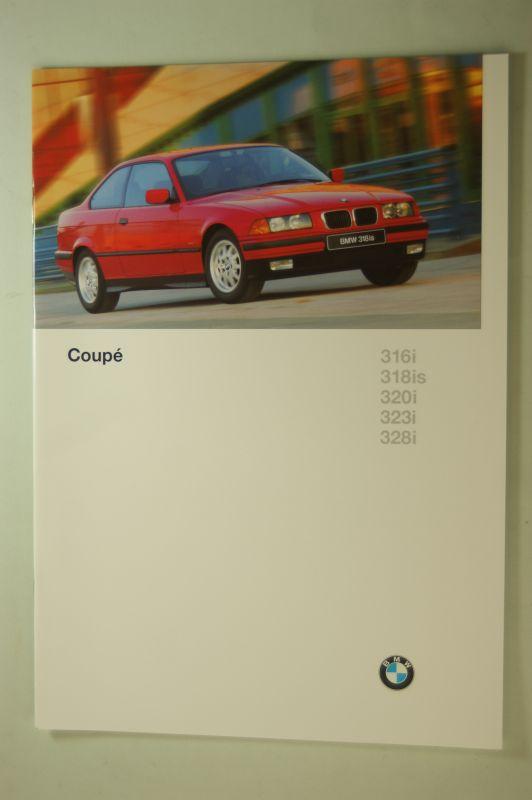 BMW: Prospekt BMW Coupe 316i bis 328i 1996