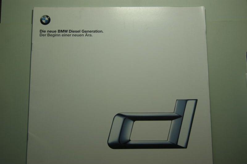 BMW: Prospekt BMW Die neue Diesel Generation
