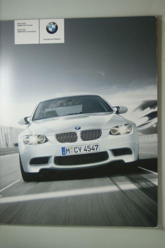 BMW: Prospekt BMW M3 Limousine Coupe 2007