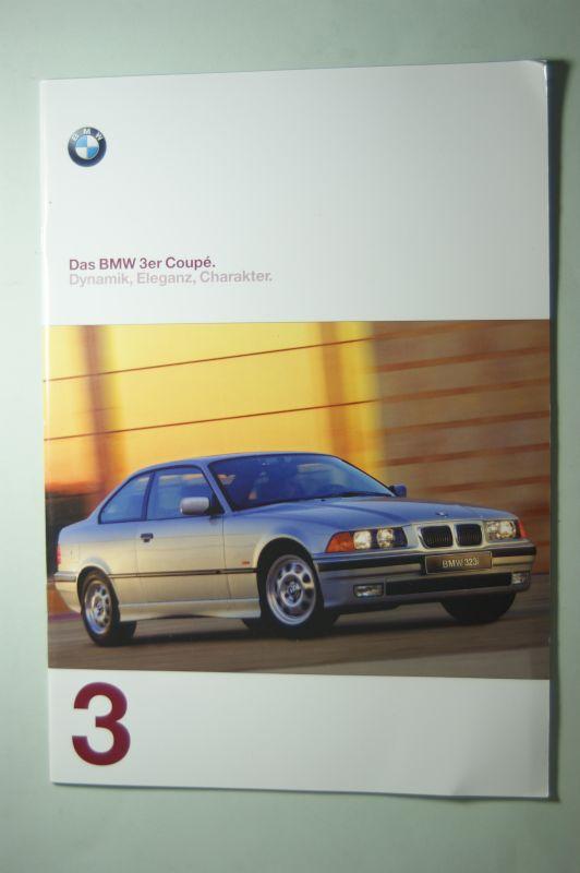 BMW: Prospekt Das 3er Coupe 01/1997