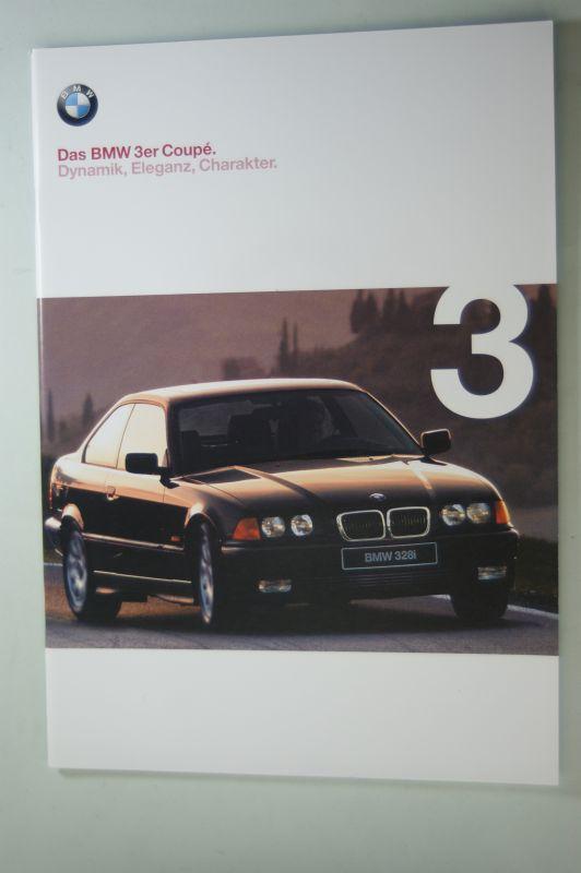 BMW: Prospekt Das BMW 3er Coupe 01/1998