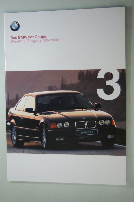 BMW: Prospekt Das BMW 3er Coupe 02/1998