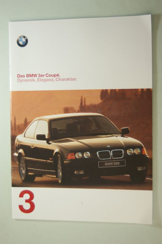 BMW: Prospekt Das BMW 3er Coupe Dynamik, Eleganz, Charakter 02/1997