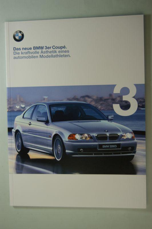 BMW: Prospekt Das neue BMW 3er coupe 0/1999