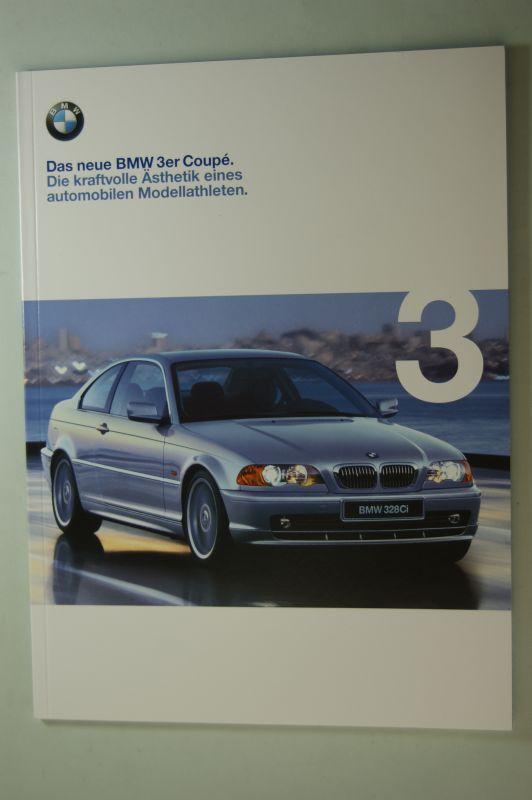 BMW: Prospekt Das neue BMW 3er coupe 02/1999