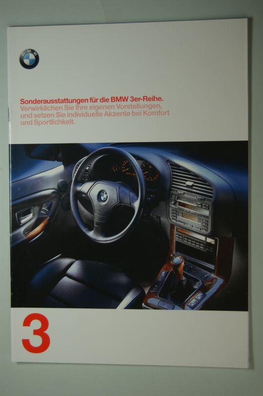 BMW: Sonderausstattungen für die BMW 3er Reihe. Prospekt 1997