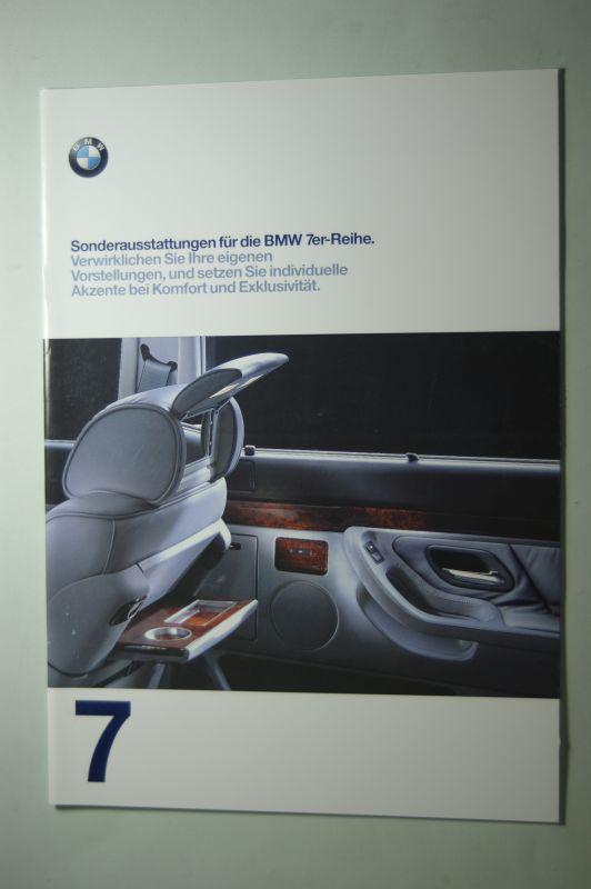 BMW: Sonderaustattungen für die BMW 7er-Reihe 1997