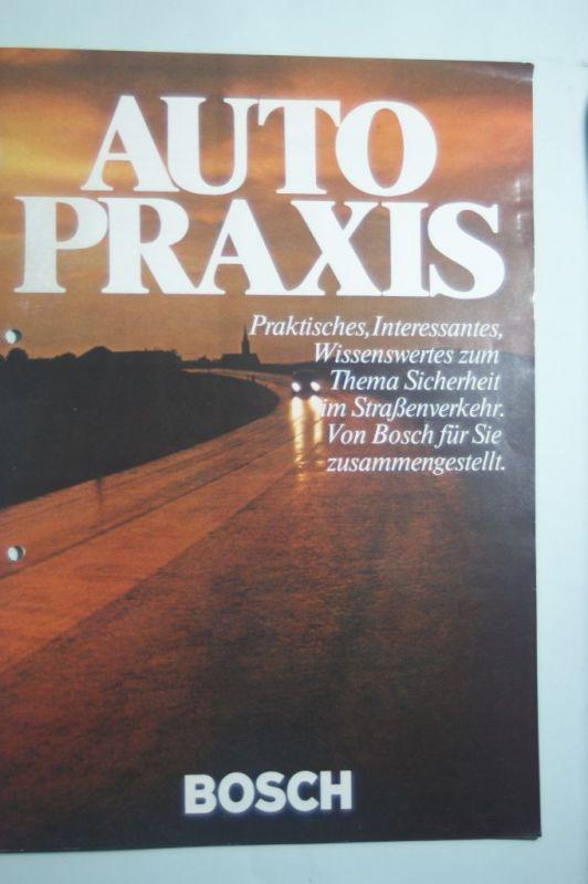 Bosch: Bosch Autopraxis aus den 1970igern