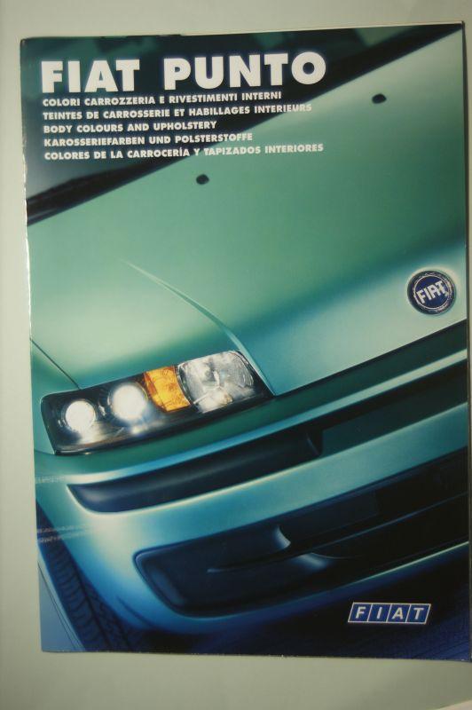 Fiat: Fiat Punto Farben und Polster 2000