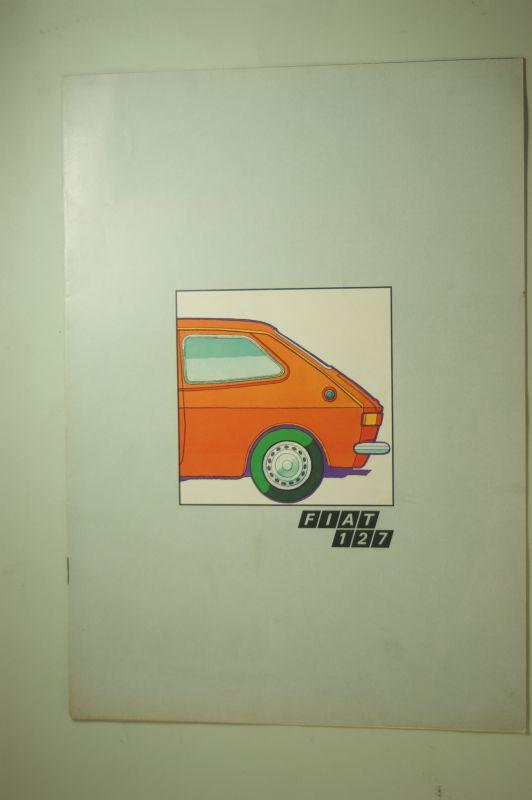 Fiat: Prospekt FIAT 127 aus den 1970igern