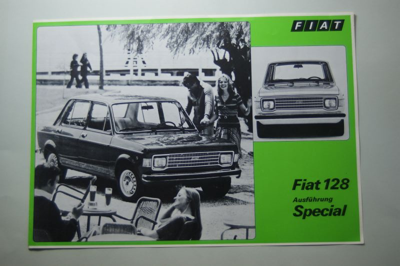 Fiat: Prospekt Fiat 128 Special
