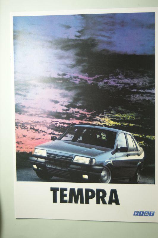 Fiat: Prospekt Fiat Tempra 1990