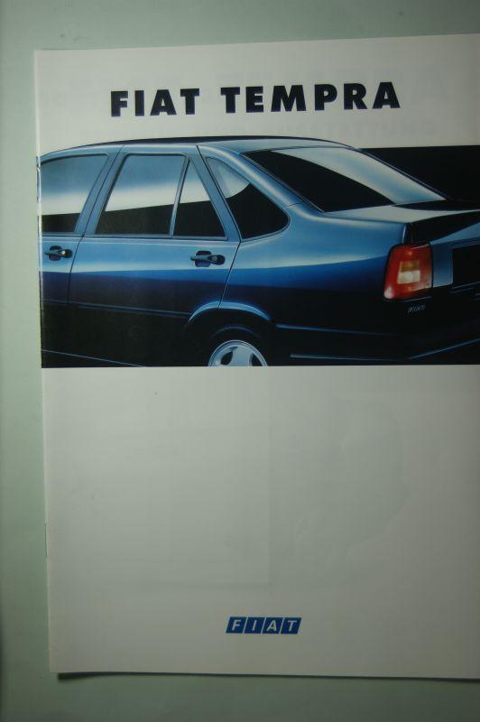 Fiat: Prospekt Fiat Tempra 1993