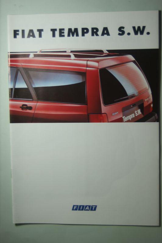 Fiat: Prospekt Fiat Tempra S.W. 04/1993