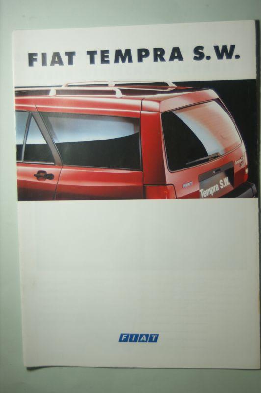 Fiat: Prospekt Fiat Tempra S.W. 09/1993