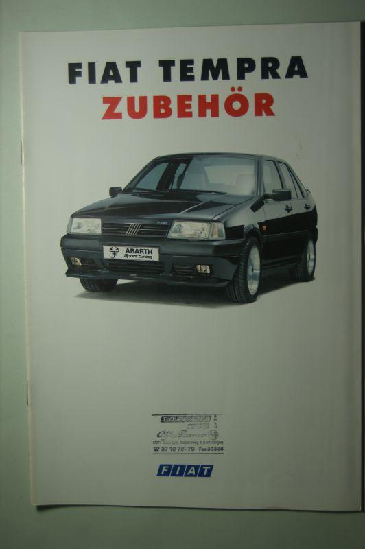 Fiat: Prospekt Fiat Tempra Zubehör 1993