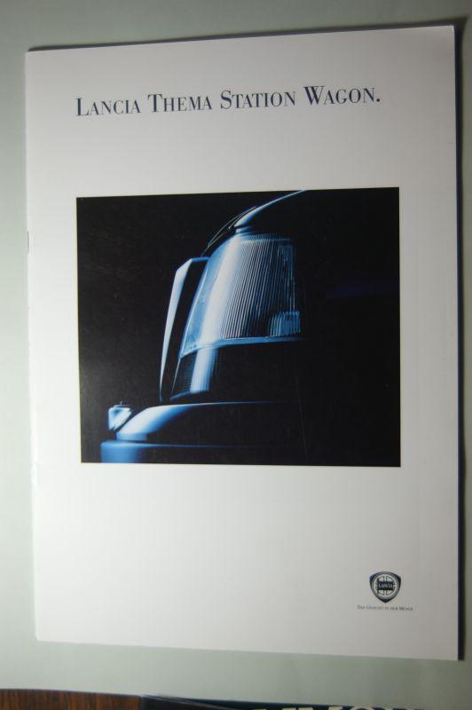 Lancia: Prospekt Lancia Thema Station Wagon
