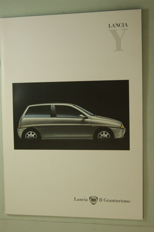 Lancia: Prospekt Lancia Y 1999