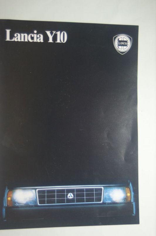 Lancia: Prospekt Lancia Y10 aus den 1990igern