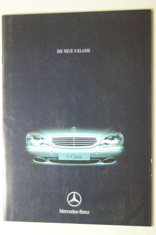 Mercedes-Benz: Prospekt Die neue S-Klasse