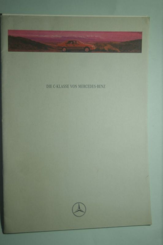 Mercedes-Benz: Prospekt Mercedes-Benz Die C-Klasse mit Preisliste 03/1993