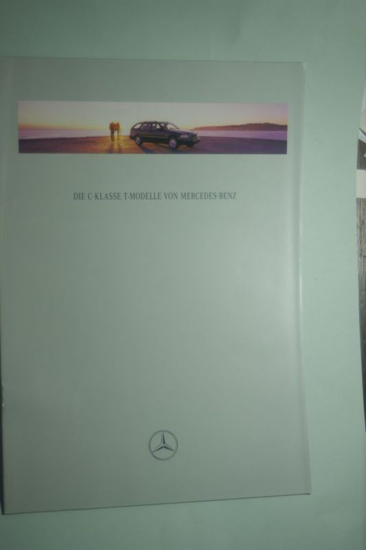 Mercedes-Benz: Prospekt Mercedes-Benz Die C-Klasse T-Modelle 08/1996