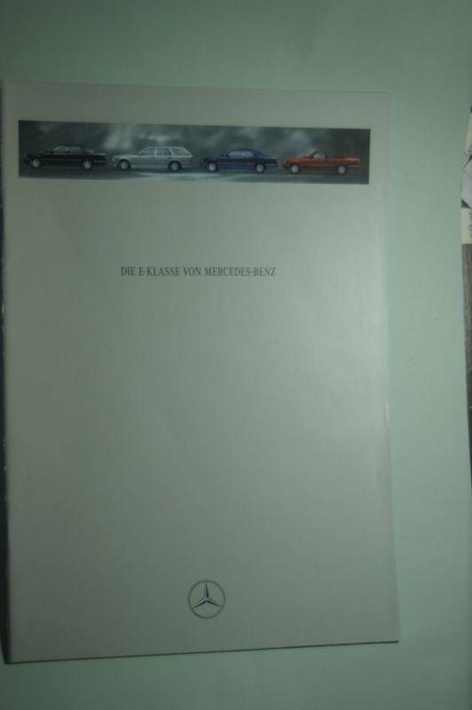 Mercedes-Benz: Prospekt Mercedes-Benz Die E-Klasse 05/1993