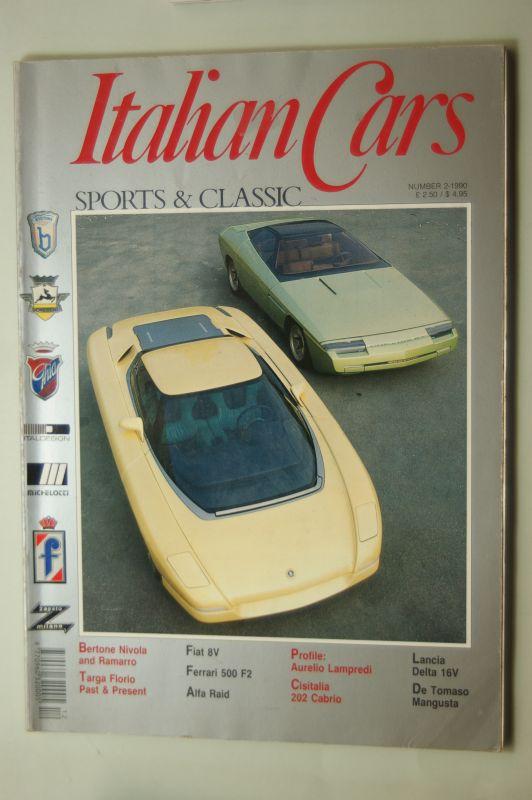 Merlo, Rpoberto: Italian Cars Nummber 2-1990