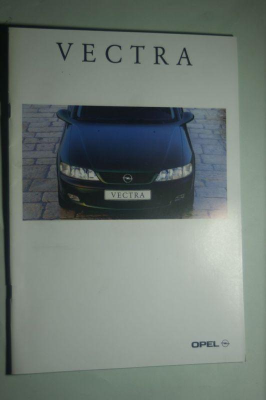 Opel: Prospekt Opel Vectra 02/1006