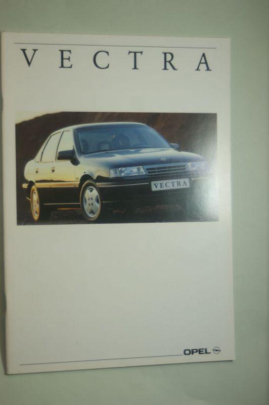 Opel: Prospekt Opel Vectra 08/1991