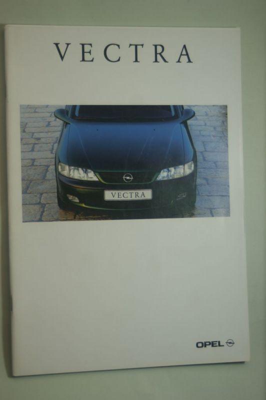 Opel: Prospekt Opel Vectra 08/1996