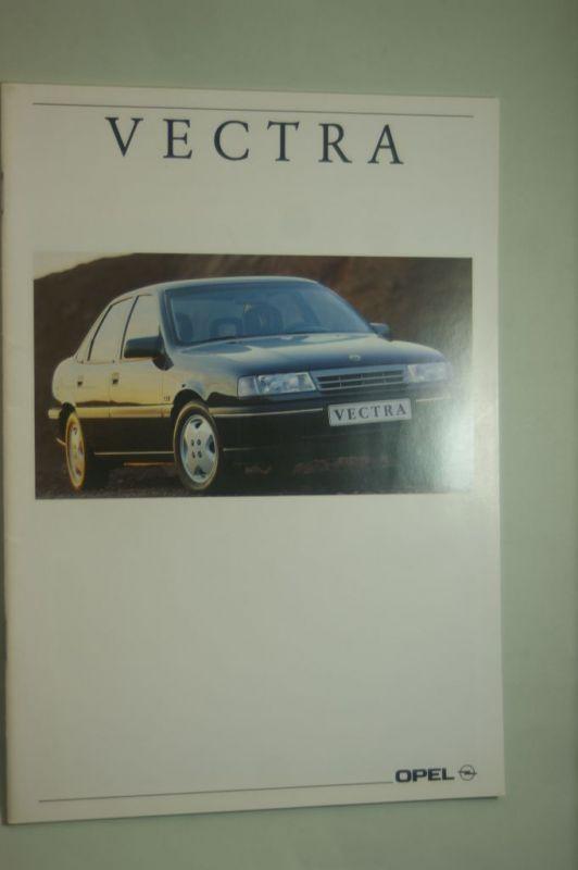 Opel: Prospekt Opel Vectra 09/1991
