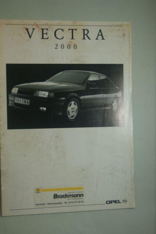 Opel: Prospekt Opel Vectra 2000 08/1991