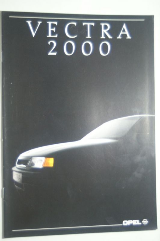 Opel: Prospekt Opel Vectra 2000 09/1989
