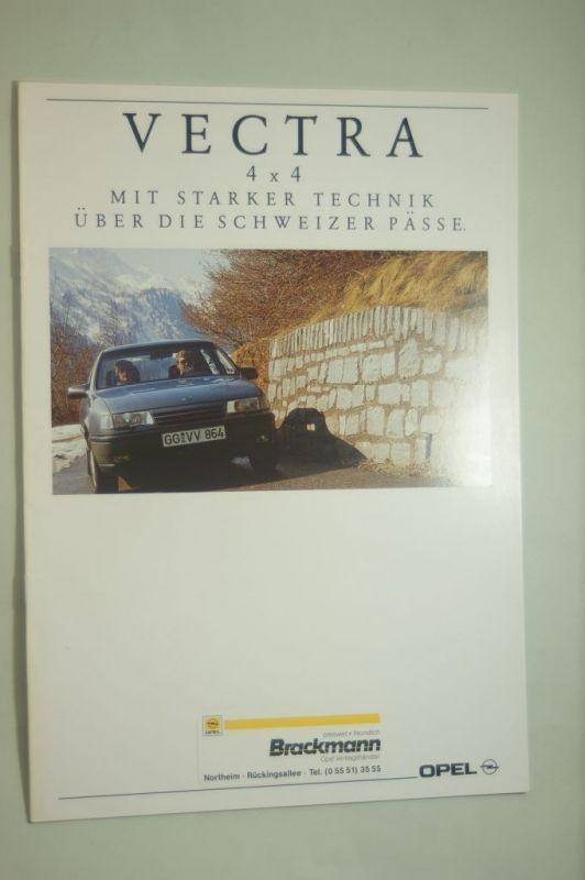 Opel: Prospekt Opel Vectra 4x4 08/1991