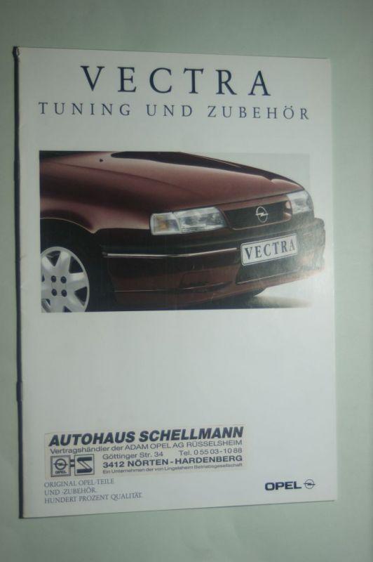 Opel: Prospekt Opel Vectra Tuning und Zubehör m. Preisl. 10/1992