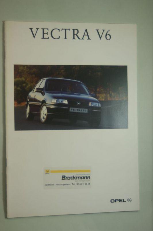 Opel: Prospekt Opel Vectra V6 02/1993