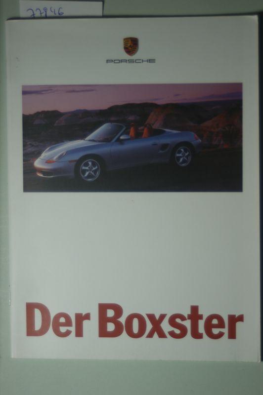 Porsche: A5 Prospekt Porsche Der Boxter 08/1996