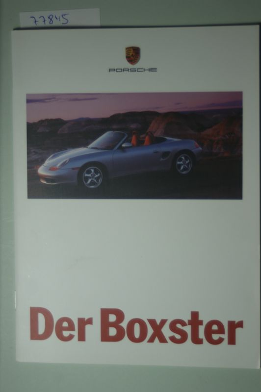 Porsche: A5 Prospekt Porsche Der Boxter 1996