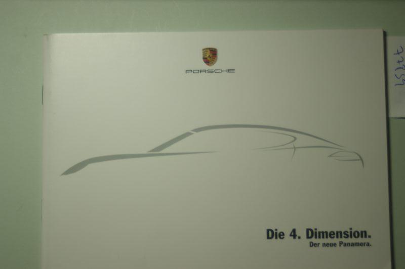 Porsche: A5 Prospekt Porsche Die 4. Dimension Der neue Panama 2008