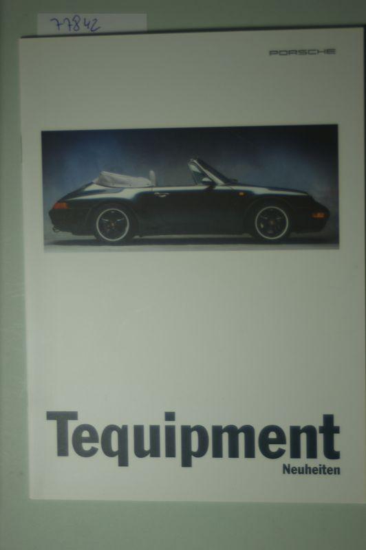 Porsche: A5 Prospekt Porsche Tequipment 1995