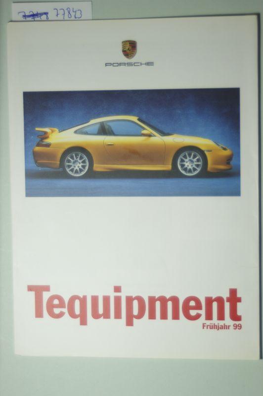 Porsche: A5 Prospekt Porsche Tequipment Frühjahr 1999