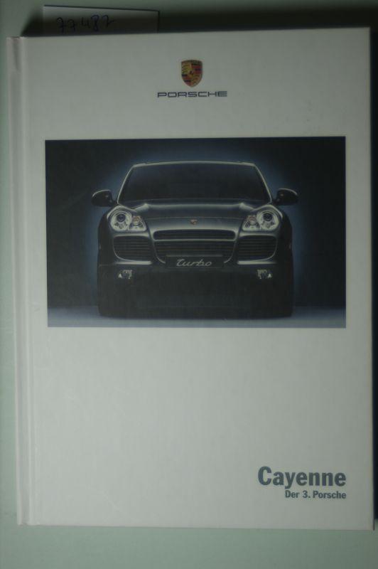 Porsche: Werbe-Buch Porsche Cayenne 2002